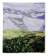 Misty Vumba Fleece Blanket