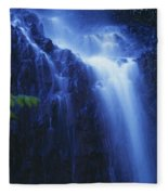 Misty Waterfall Fleece Blanket