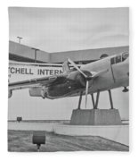 Mitchell International Airport Fleece Blanket