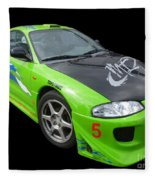 Mitsubishi Eclipse Fleece Blanket