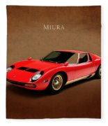 Miura Fleece Blanket by Mark Rogan