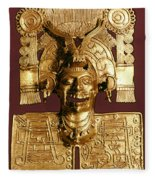 Mixtec: God Of The Dead Fleece Blanket