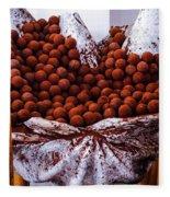 Mmmm Chocolate Fleece Blanket