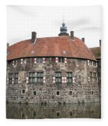 Moated Castle Vischering Fleece Blanket