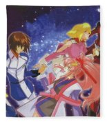 Mobile Suit Gundam Seed Destiny Fleece Blanket