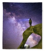 Mobius Milky Way Fleece Blanket