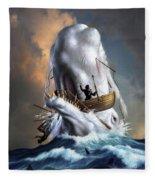 Moby Dick 1 Fleece Blanket