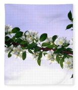 Mock Orange Fleece Blanket