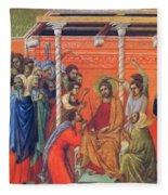 Mockery Of Christ 1311 Fleece Blanket
