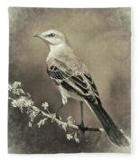 Mockingbird Fleece Blanket