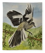 Mockingbird Landing Fleece Blanket