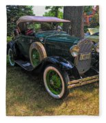 1928 Model A Ford  Fleece Blanket