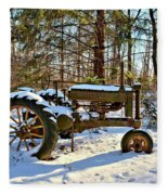 Model A Deere 2 Fleece Blanket