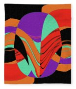 Modern Art 2 Fleece Blanket