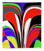 Modern Art Fleece Blanket