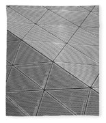 Modern Detail Background Fleece Blanket