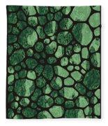 Modern Stone Fleece Blanket