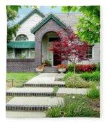 Modern Suburban House Hayward California 33 Fleece Blanket