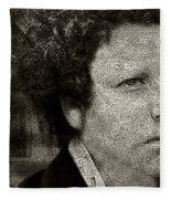 Modern Van Gogh Xxviii Fleece Blanket