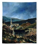 Mogimont Village Ardennes  Fleece Blanket