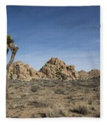 Mohave Desert Fleece Blanket