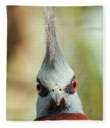 Mohican Bird Fleece Blanket