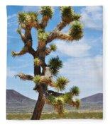 Mojave Joshua Tree Fleece Blanket