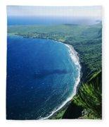 Molokai, View Fleece Blanket