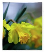 Mom's Daffs Fleece Blanket