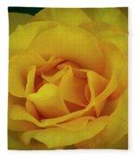 Moms Yellow Rose Fleece Blanket