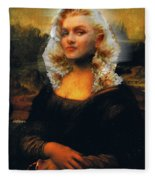 Mona Marilyn Fleece Blanket