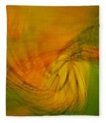 Monarch Abstract Fleece Blanket