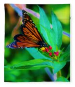 Monarch Heaven Fleece Blanket