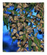Monarchs Fleece Blanket
