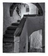 Monastery Of Saint John The Theologian Fleece Blanket