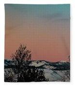 Monday Monday Fleece Blanket