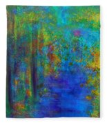 Monet Woods Fleece Blanket