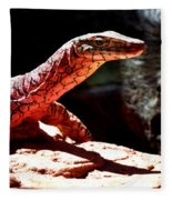 Monitor Lizard Fleece Blanket