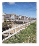 Monmouth Beach - Impressions Fleece Blanket