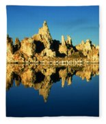 Mono Lake California Sunset - Landscape Fleece Blanket