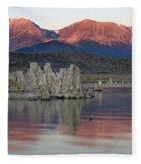 Mono Lake Sunrise 1 Fleece Blanket