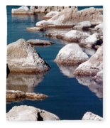 Mono Lake Tufa Fleece Blanket