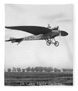 Monoplane, 1910 Fleece Blanket