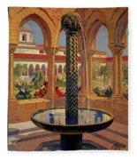 Monreale Palermo 1925 Travel Fleece Blanket