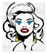 Monroe Fleece Blanket