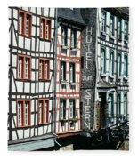 Monschau Hotel Fleece Blanket