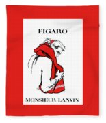 Monsieur Fleece Blanket