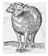 Monster, 16th Century Fleece Blanket