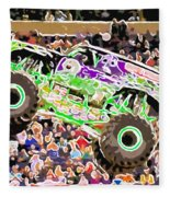 Monster Jam Orlando Fl Fleece Blanket
