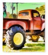 Monster Truck - Grave Digger 1 Fleece Blanket